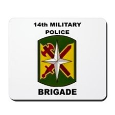 14TH MILITARY POLICE BRIGADE Mousepad