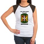 14TH MILITARY POLICE BRIGADE Women's Cap Sleeve T-