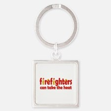 Firefighters Can Take the Heat Keychains