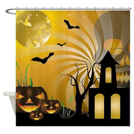 Halloween Shower Curtain By Stylishdesign1