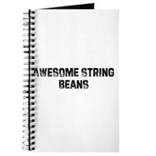 Awesome String Beans Journal