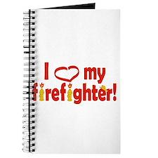 I Heart My Firefighter Journal