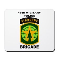 16TH MILITARY POLICE BRIGADE AIRBORNE Mousepad