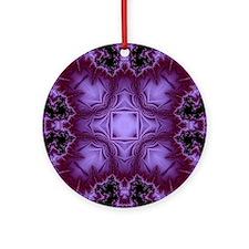 Fractal 680 Round Ornament