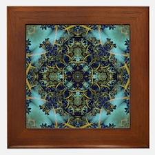 Fractal 684 Framed Tile