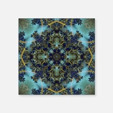 "Fractal 684 Square Sticker 3"" x 3"""