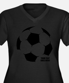 Personalized Soccer Plus Size T-Shirt