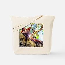 Lazy Fox Tote Bag