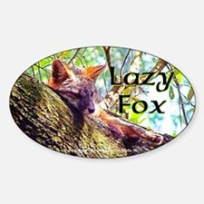 Lazy Fox Decal