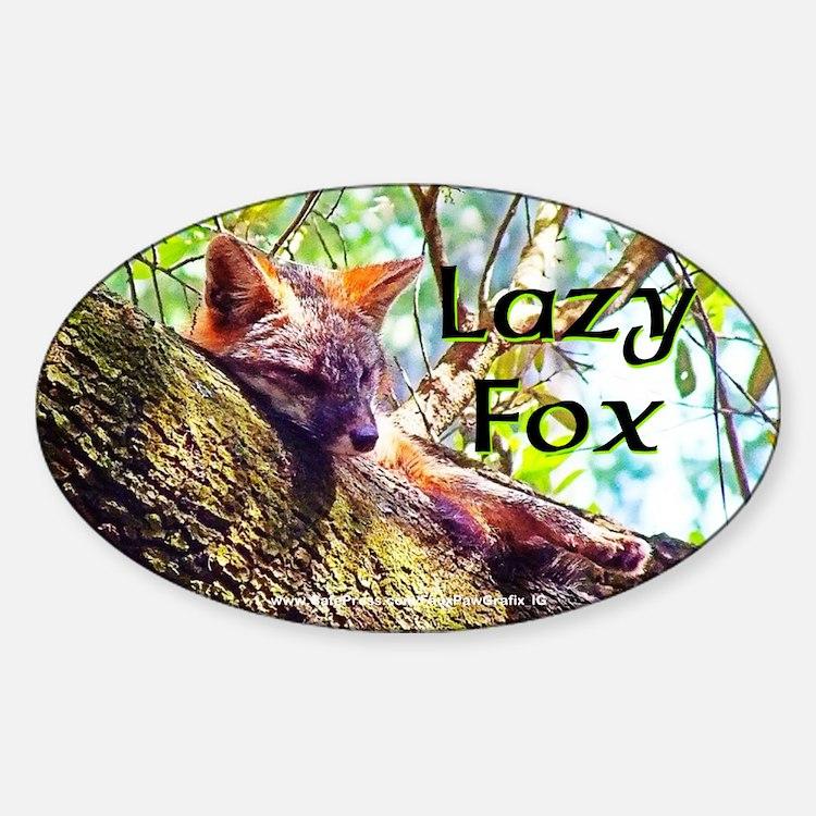 Lazy Fox Decal