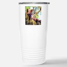 Lazy Fox Stainless Steel Travel Mug