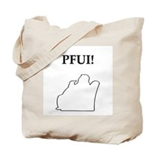 pfui gifts and t-shirts Tote Bag