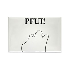 pfui gifts and t-shirts Rectangle Magnet (100 pack