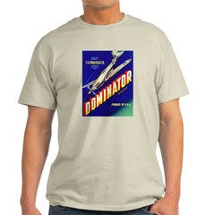 Dominator Brand Ash Grey T-Shirt