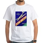 Dominator Brand White T-Shirt