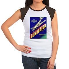 Dominator Brand Women's Cap Sleeve T-Shirt