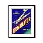 Dominator Brand Framed Panel Print
