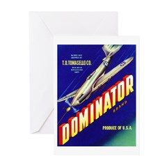 Dominator Brand Greeting Cards (Pk of 10)