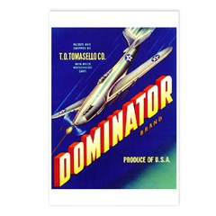 Dominator Brand Postcards (Package of 8)