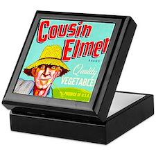 Cousin Elmer Brand Keepsake Box