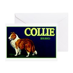 Collie Brand Greeting Cards (Pk of 10)