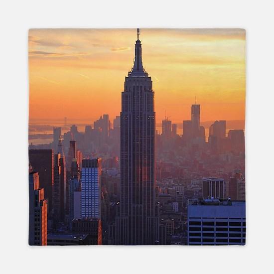 Orange Sunset, Empire State Building, NYC Skyline