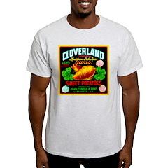 Cloverland Brand Ash Grey T-Shirt