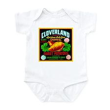 Cloverland Brand Infant Bodysuit