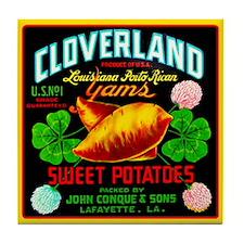 Cloverland Brand Tile Coaster