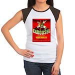 Carousel Brand Women's Cap Sleeve T-Shirt