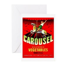 Carousel Brand Greeting Cards (Pk of 10)