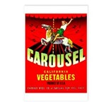 Carousel Brand Postcards (Package of 8)