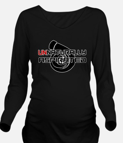 Unnaturally Aspirated Long Sleeve Maternity T-Shir