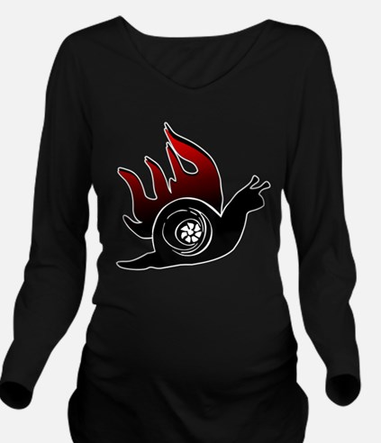 Boost Snail Long Sleeve Maternity T-Shirt