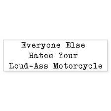 Motorcycle Bumper Bumper Sticker