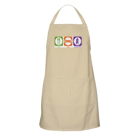 Eat Sleep Bike BBQ Apron