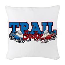 Trail Breaker Woven Throw Pillow