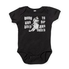 Born And Bred Baby Bodysuit