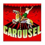 Carousel Brand Tile Coaster