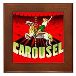 Carousel Brand Framed Tile