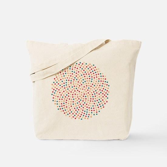 Fibonacci sunflower spiral sunset Tote Bag