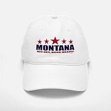Montana Big Sky, Huge Heart Baseball Baseball Cap