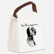 Englilsh Setter Happy Face Canvas Lunch Bag