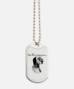 Englilsh Setter Happy Face Dog Tags