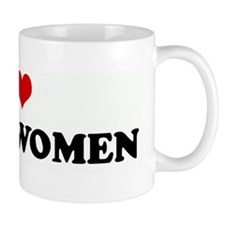 I Love BLACK WOMEN Mug