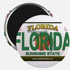 Florida License Plate Magnets