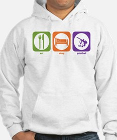 Eat Sleep Paintball Hoodie Sweatshirt