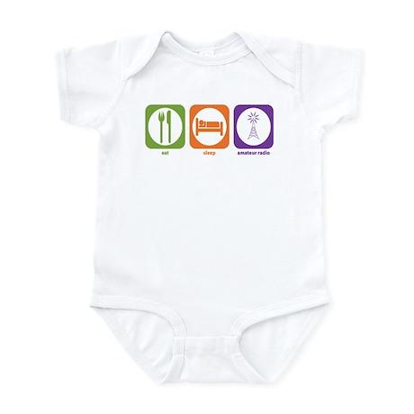 Eat Sleep Radio Infant Bodysuit