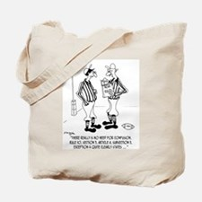 No Need for Confusion Tote Bag