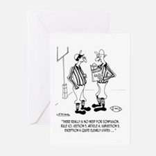 No Need for Confusion Greeting Cards (Pk of 10)